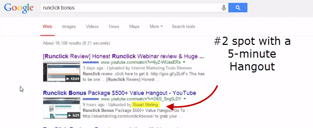 How I Got A Page One Google Listing In Less Than 2 Hours