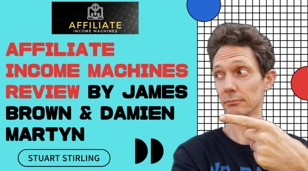 Affiliate income machines Review