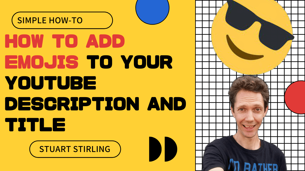 How to add Emojis to Youtube Description